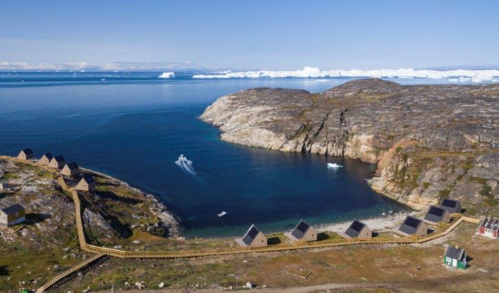 Vacances de luxe dans l'Arctique